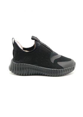 403606-LBBK Slip On Sneaker W/ Quarter Cage Overlay SKECHERS - נעלי ילדים