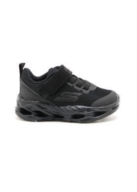 405000-NBBK Gore & Strap Sneaker W/ Color Blocked Underlay-  נעלי תינוקות