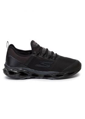 54841-BBK - Lightweight Resagrip Running Shoe - SKECHERS - נעלי גברים