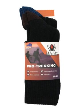 861-BLK - גרבי רדבק PRO TREKKING ארוכות TPP -שחור