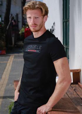 Gazelle חולצת טישירט כותנה - S21ST05-BLK
