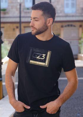 Gazelle חולצת טישירט כותנה - S21ST06-BLK