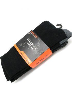 W20SOCK01- Gazelle -41-46 -גרביים תרמי שחור